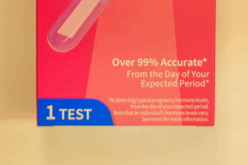 Testing early affects the accuracy of your Family Wellness Early Result Pregnancy Test.
