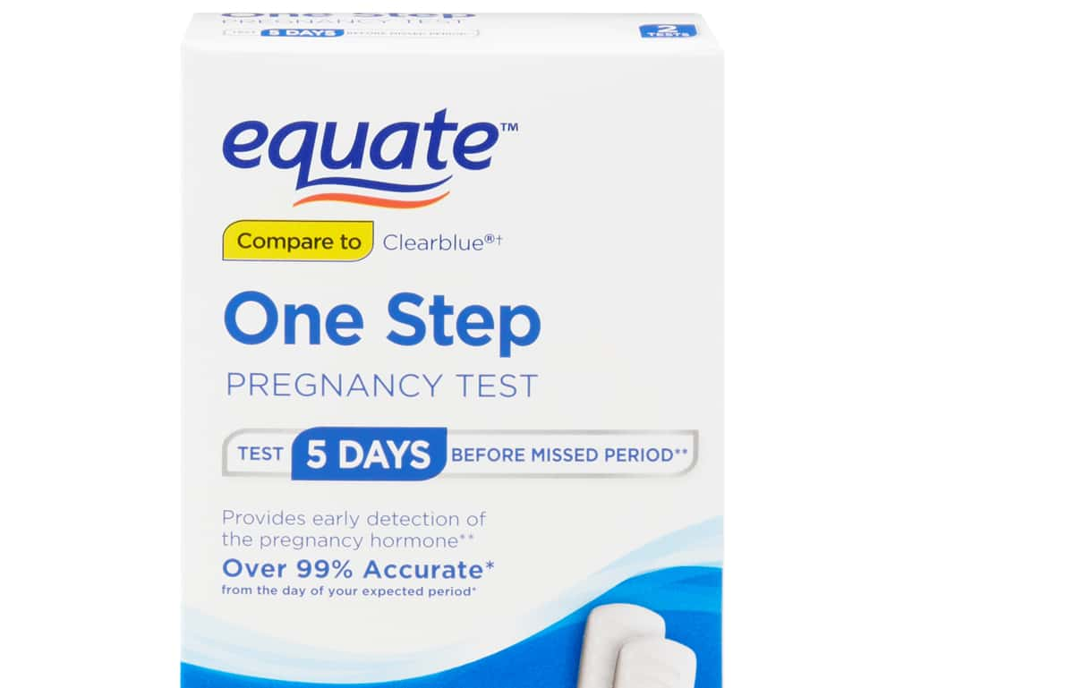 Equate+/ PregnancyTest