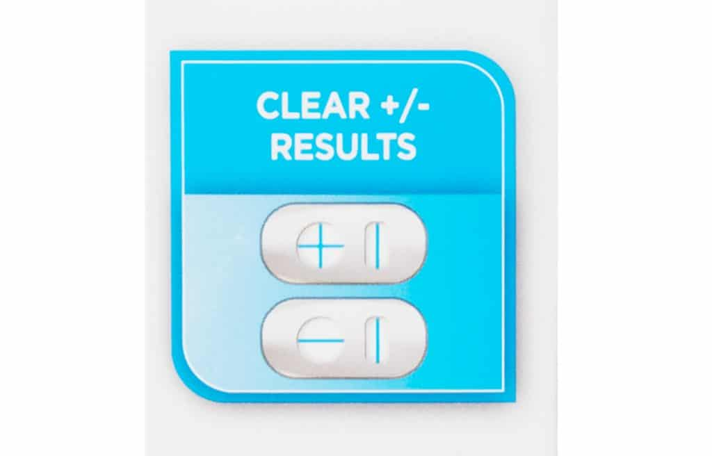 Check out your results for the Equate One Step Pregnancy Test