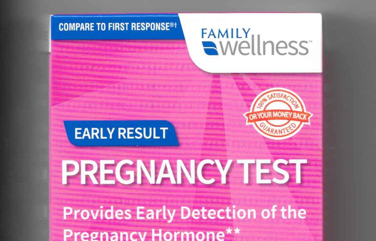 Family Dollar Pregnancy Test sensitivity