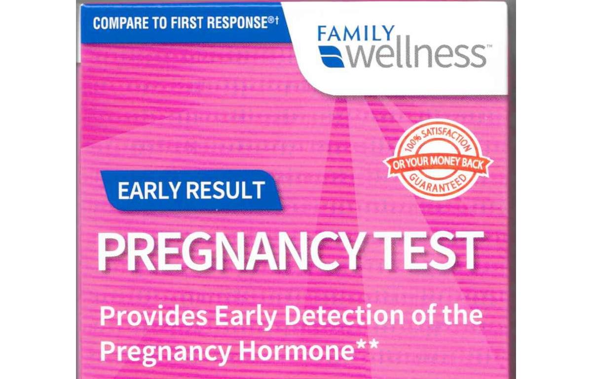 Family Wellness Pregnancy Test