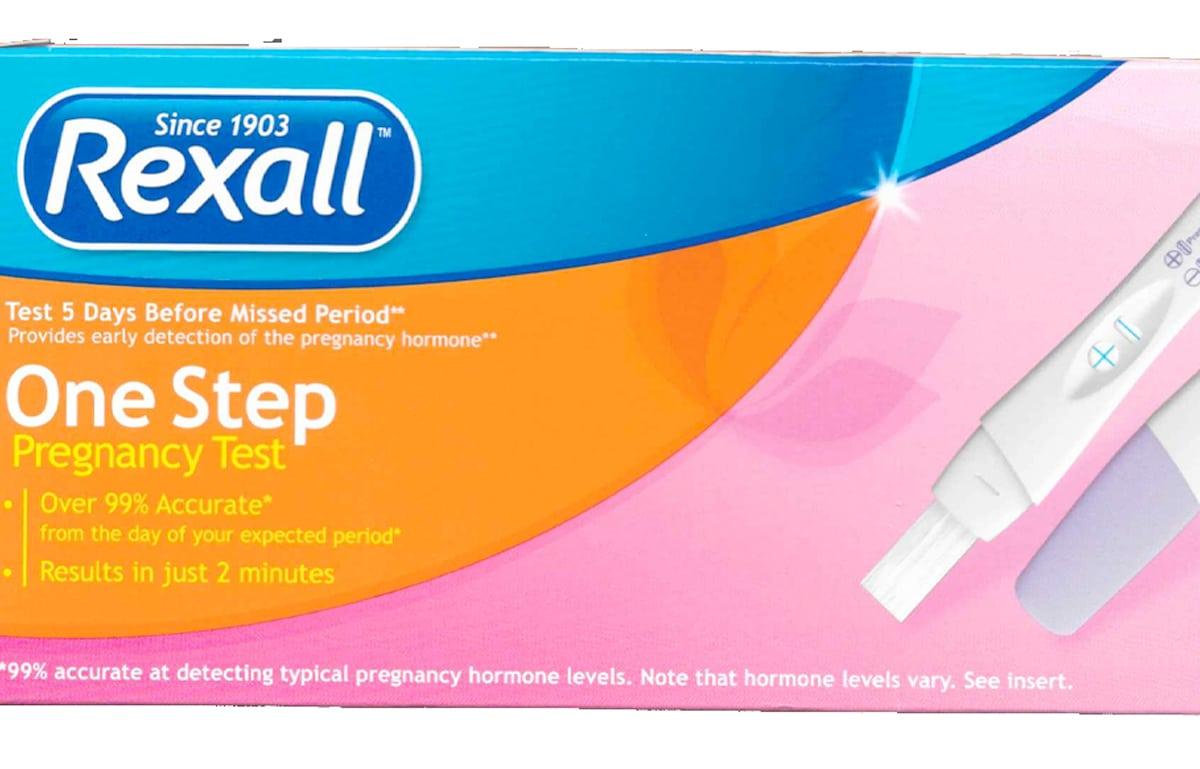 Rexall Pregnancy Test Accuracy