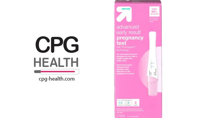 Target Early Result Pregnancy Test