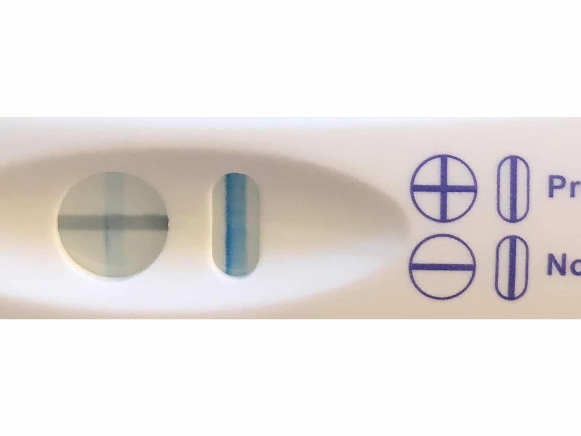Walgreens Pregnancy Test Faint Line