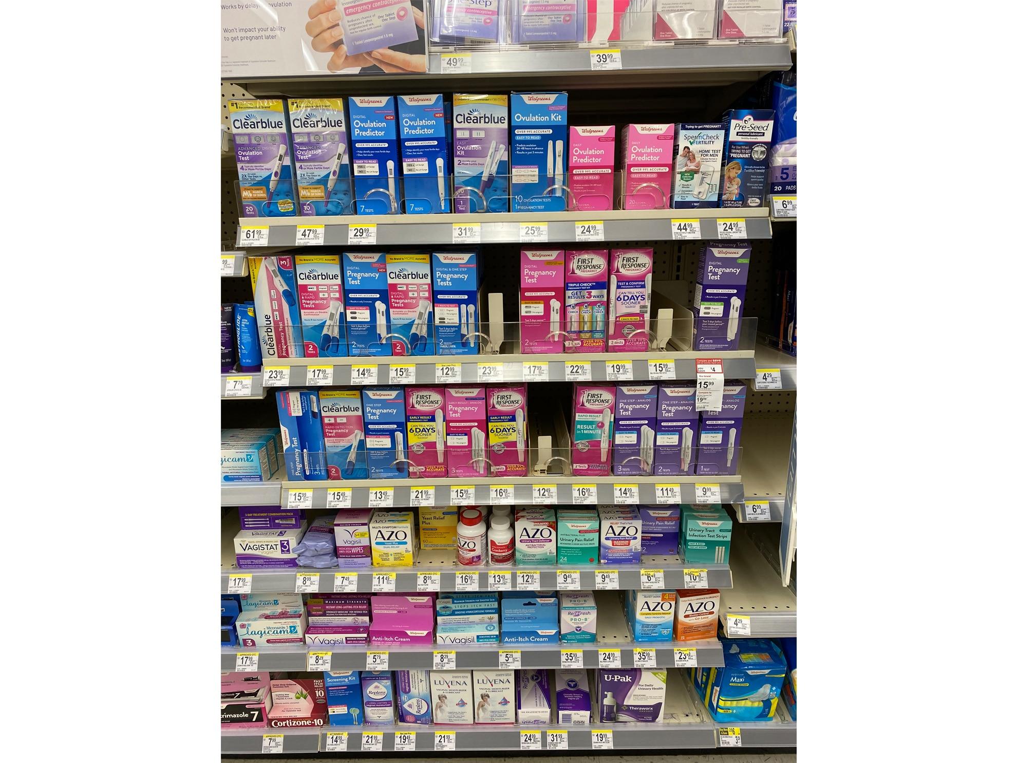 Walgreens Pregnancy Test