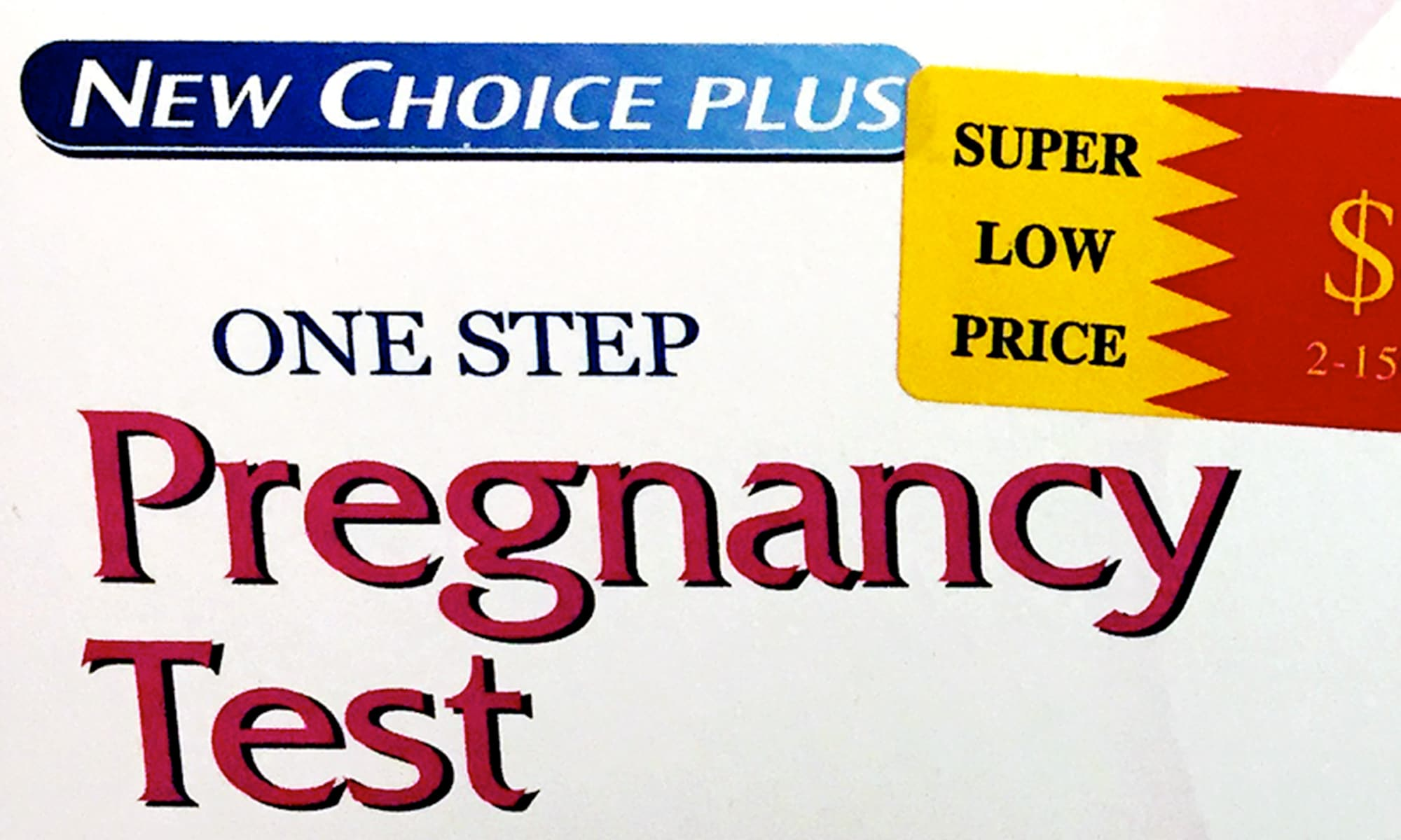 Who makes the New Choice Plus One Step Pregnancy Test?