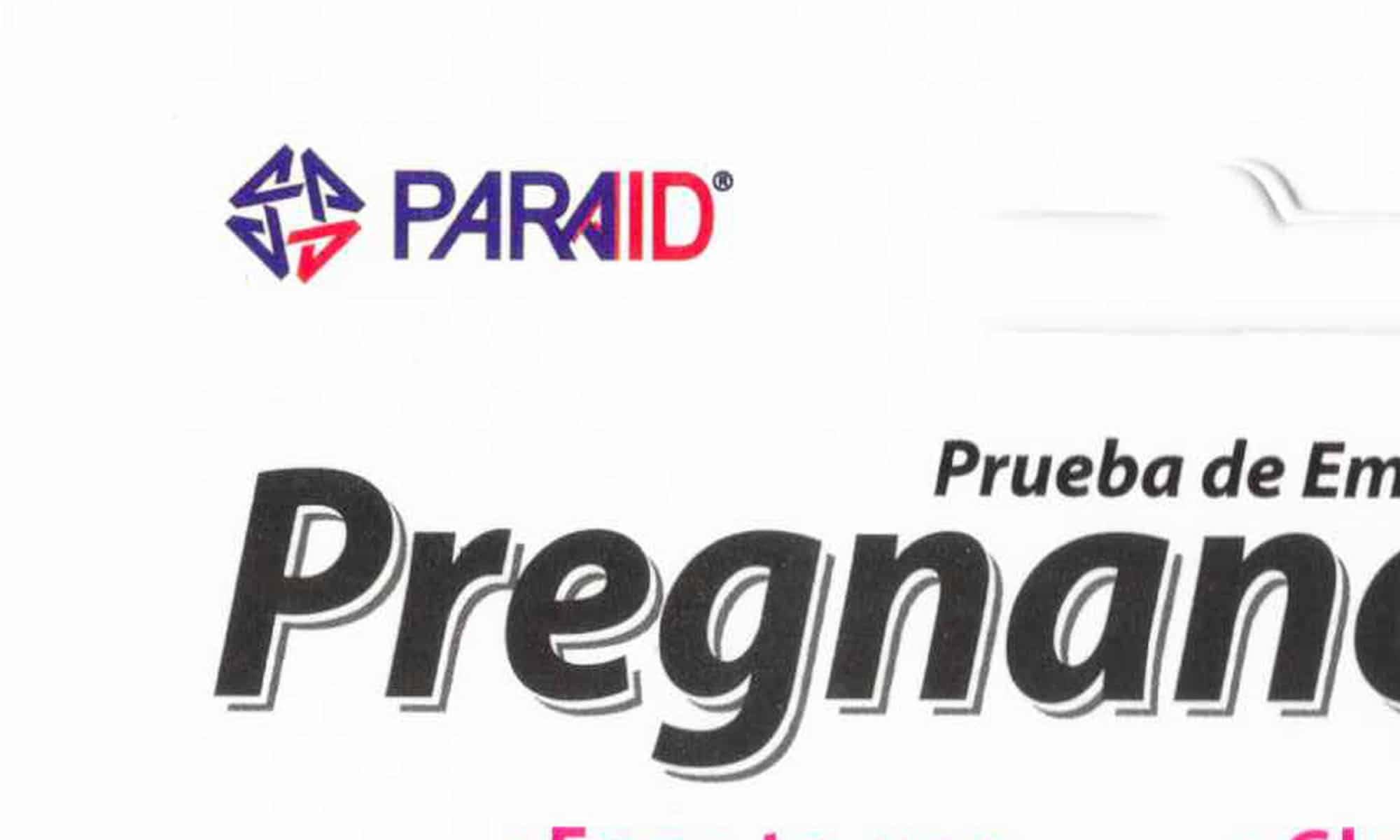 Paraid Para-Aid Pregnancy Test logo.