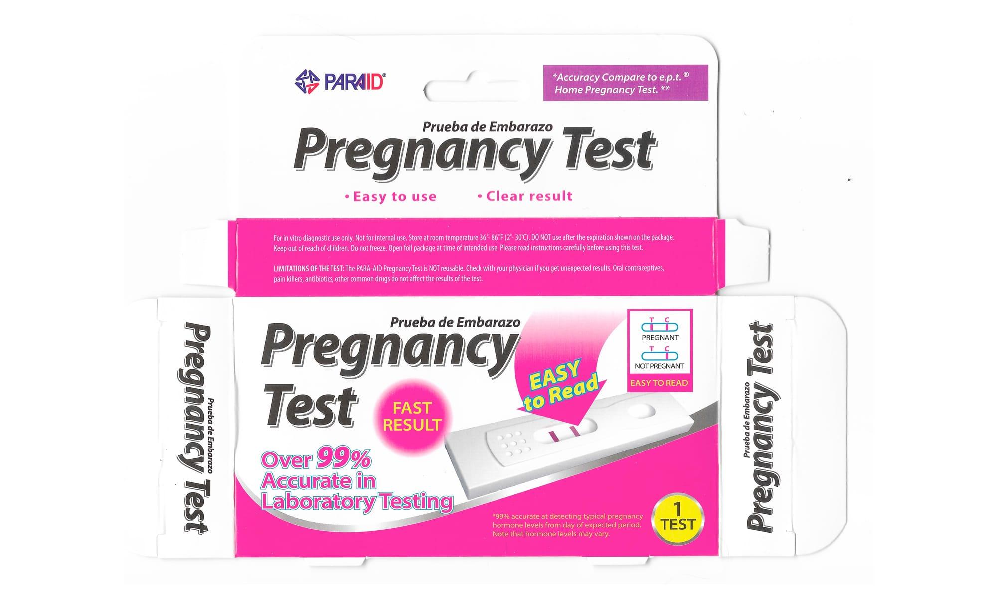 Pregnancy Test Paraid