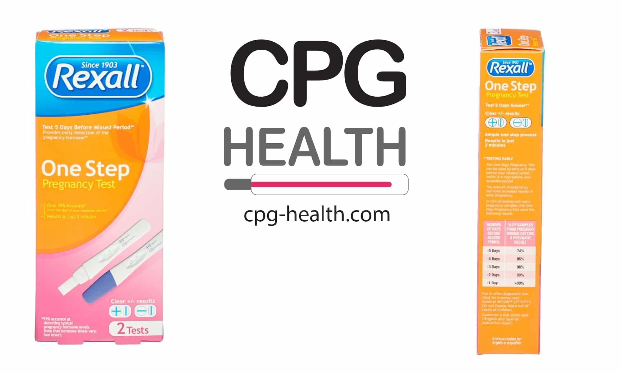 Rexall Pregnancy Test Positive