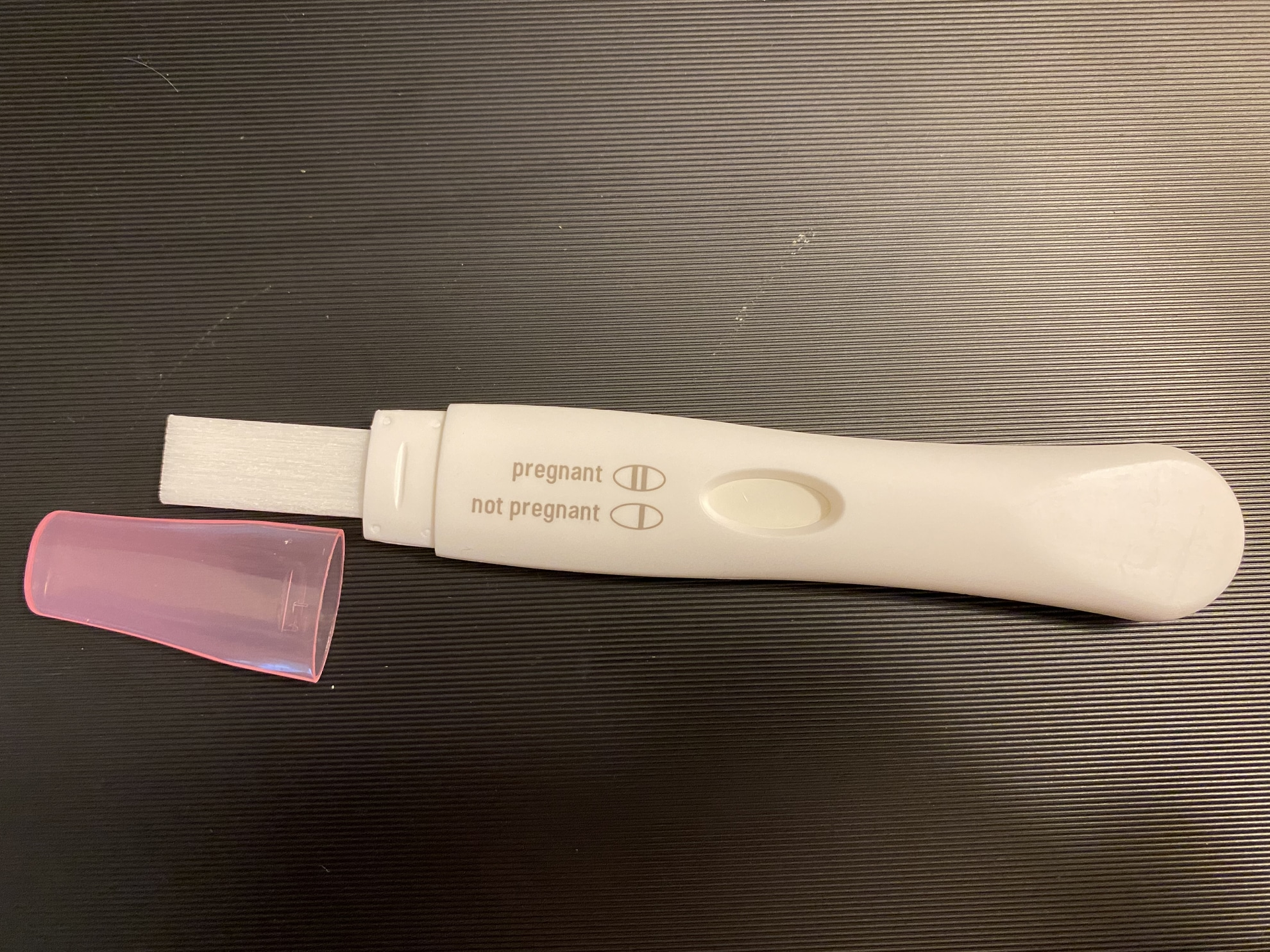 Walgreens One Step Analog Pregnancy Test hCG Sensitivity