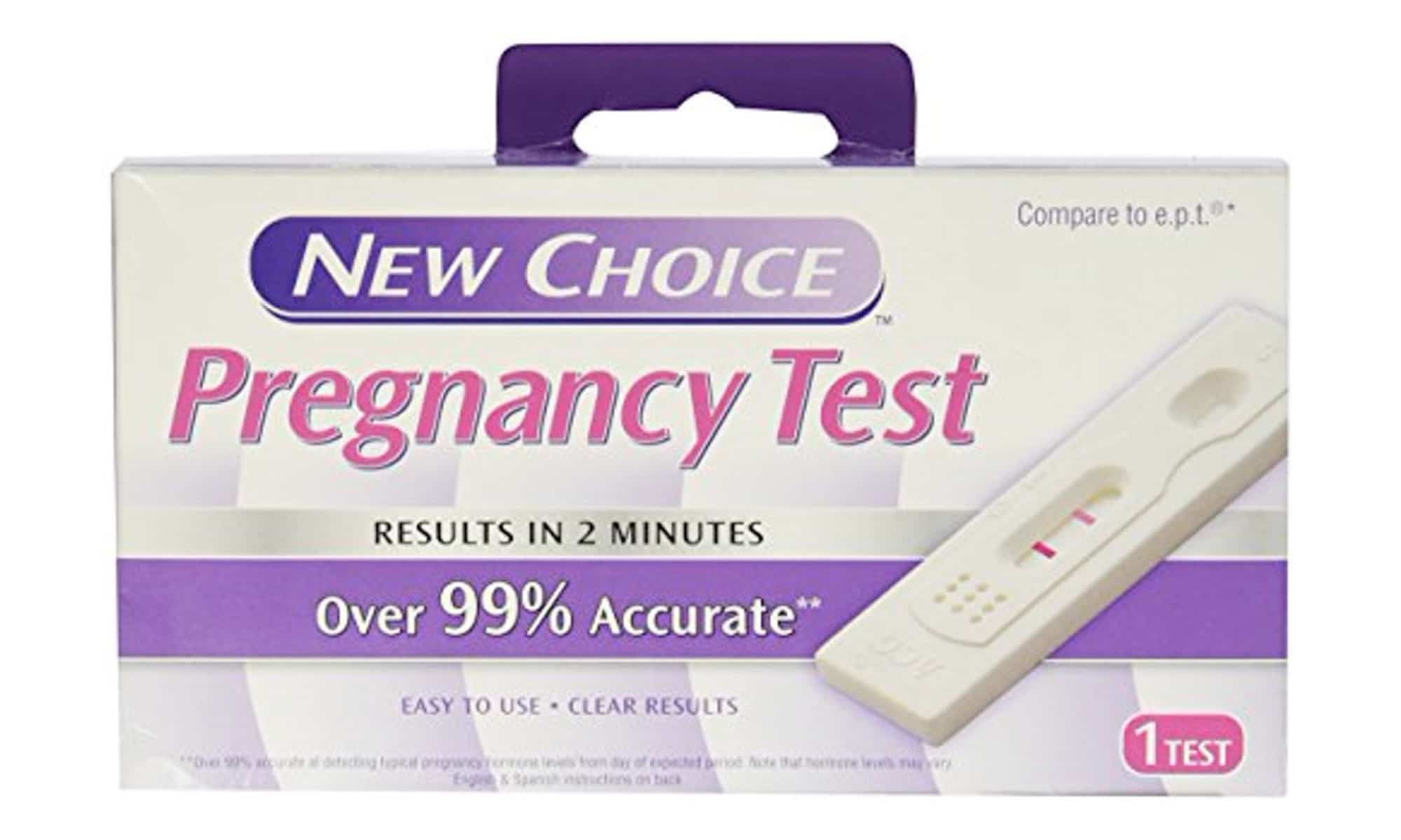 What is New Choice Pregnancy Test accuracy?